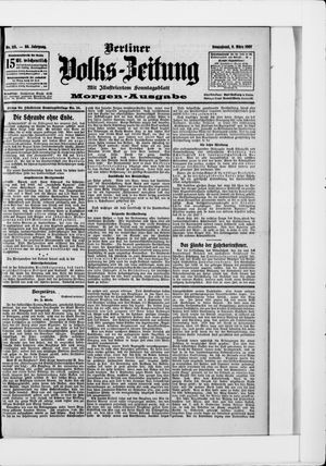 Berliner Volkszeitung on Mar 9, 1907
