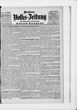 Berliner Volkszeitung vom 11.03.1907