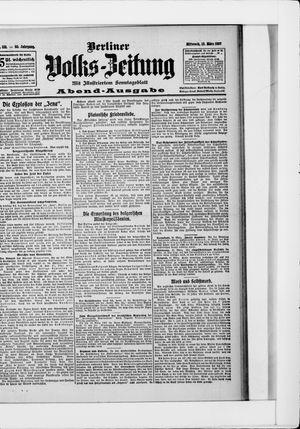 Berliner Volkszeitung vom 13.03.1907