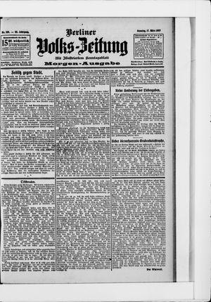 Berliner Volkszeitung vom 17.03.1907