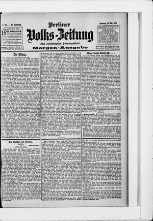 Berliner Volkszeitung vom 19.03.1907