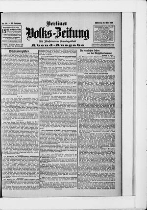 Berliner Volkszeitung vom 20.03.1907
