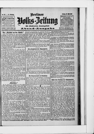 Berliner Volkszeitung vom 22.03.1907