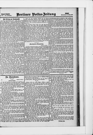 Berliner Volkszeitung vom 23.03.1907