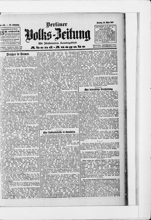 Berliner Volkszeitung vom 25.03.1907
