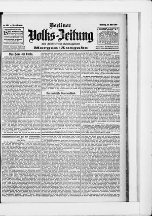 Berliner Volkszeitung vom 26.03.1907