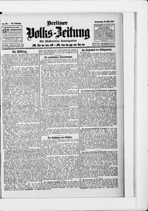 Berliner Volkszeitung vom 28.03.1907