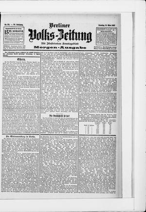 Berliner Volkszeitung vom 31.03.1907