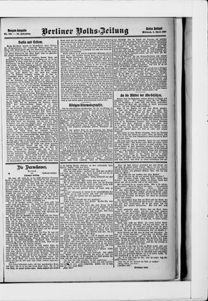 Berliner Volkszeitung vom 03.04.1907