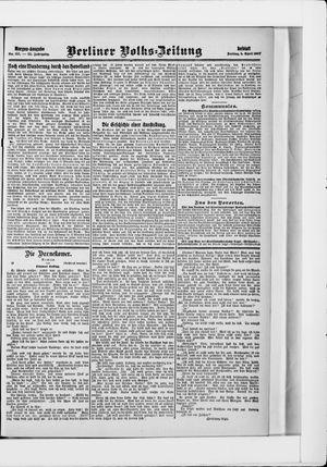 Berliner Volkszeitung vom 05.04.1907