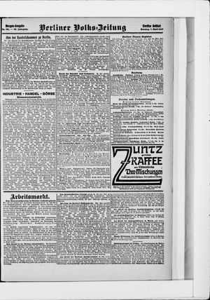 Berliner Volkszeitung vom 07.04.1907
