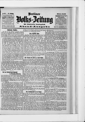 Berliner Volkszeitung vom 01.05.1907