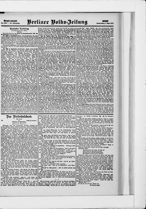 Berliner Volkszeitung vom 02.05.1907