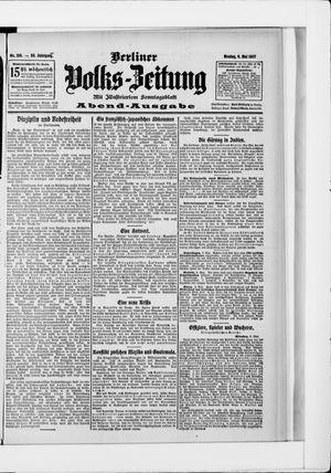 Berliner Volkszeitung vom 06.05.1907