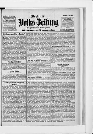 Berliner Volkszeitung vom 07.05.1907