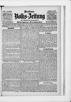 Berliner Volkszeitung vom 09.05.1907