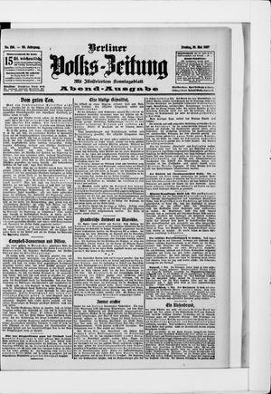 Berliner Volkszeitung vom 10.05.1907