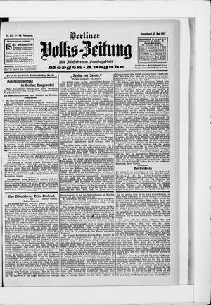 Berliner Volkszeitung vom 11.05.1907