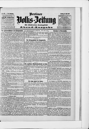 Berliner Volkszeitung on May 13, 1907