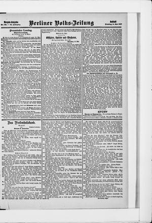 Berliner Volkszeitung vom 14.05.1907