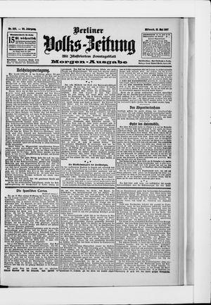 Berliner Volkszeitung vom 15.05.1907
