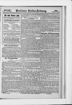 Berliner Volkszeitung vom 17.05.1907