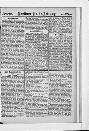 Berliner Volkszeitung vom 18.05.1907