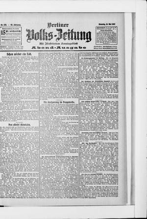 Berliner Volkszeitung vom 21.05.1907