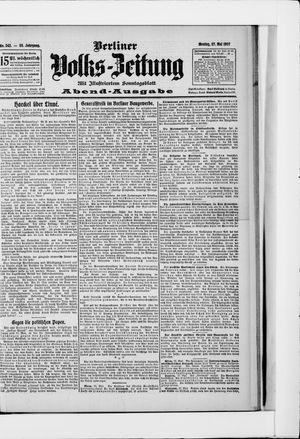 Berliner Volkszeitung vom 27.05.1907