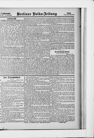 Berliner Volkszeitung on May 28, 1907