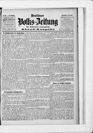 Berliner Volkszeitung vom 01.06.1907