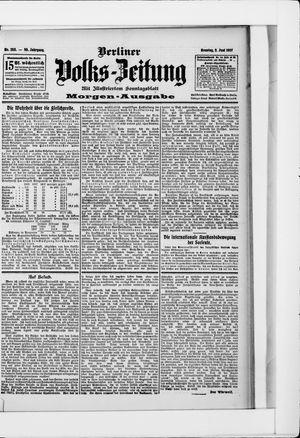 Berliner Volkszeitung vom 02.06.1907
