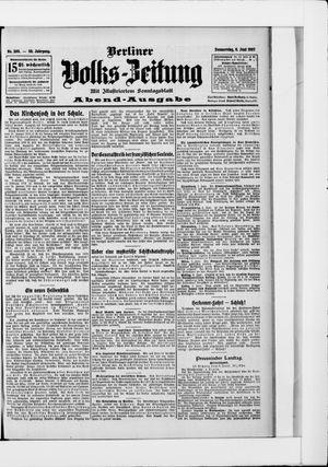 Berliner Volkszeitung vom 06.06.1907