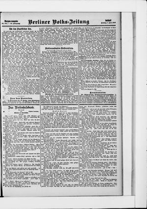 Berliner Volkszeitung vom 07.06.1907