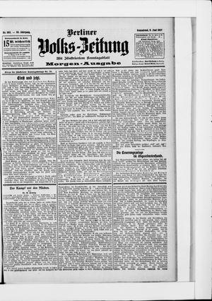 Berliner Volkszeitung vom 08.06.1907