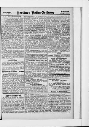 Berliner Volkszeitung vom 09.06.1907