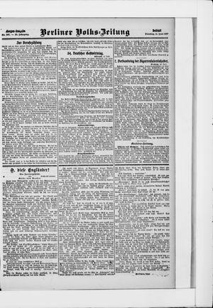Berliner Volkszeitung vom 11.06.1907