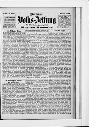 Berliner Volkszeitung vom 12.06.1907