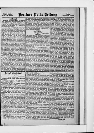 Berliner Volkszeitung vom 13.06.1907