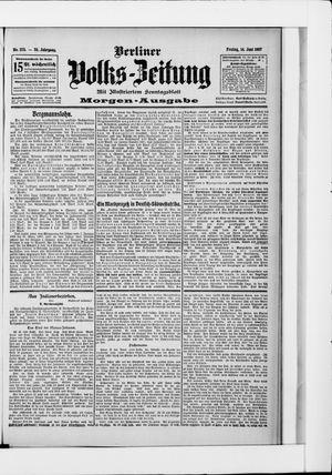 Berliner Volkszeitung vom 14.06.1907