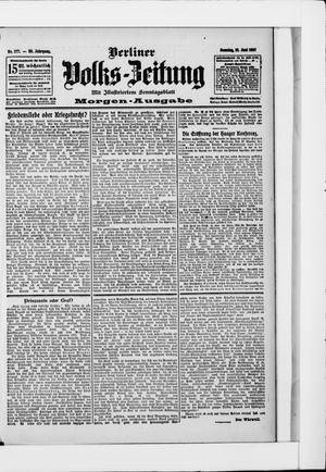 Berliner Volkszeitung vom 16.06.1907