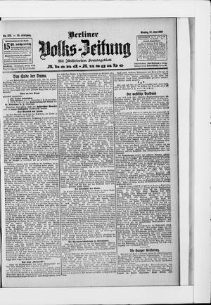 Berliner Volkszeitung vom 17.06.1907