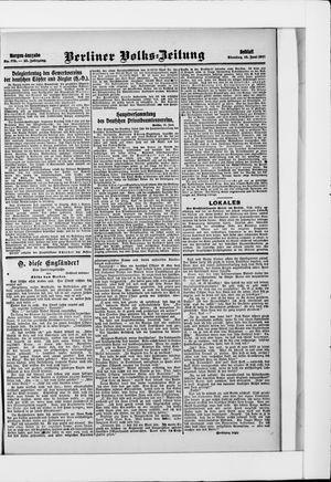Berliner Volkszeitung vom 18.06.1907