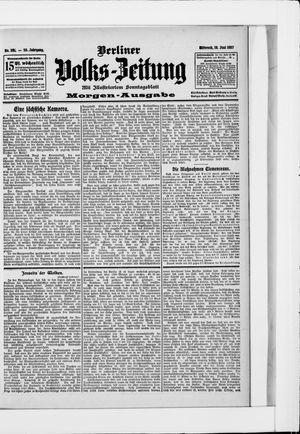 Berliner Volkszeitung vom 19.06.1907