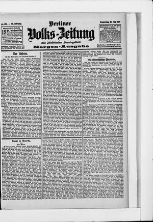 Berliner Volkszeitung vom 20.06.1907