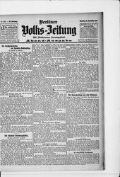 Berliner Volkszeitung (24.09.1907)