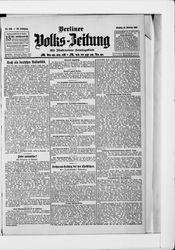 Berliner Volkszeitung (21.10.1907)