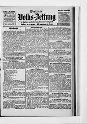 Berliner Volkszeitung (18.12.1907)