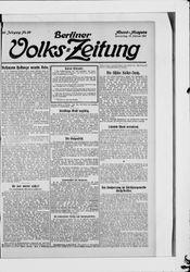 Berliner Volkszeitung (21.10.1911)