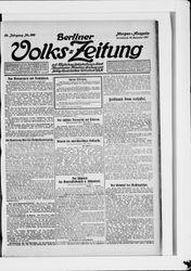 Berliner Volkszeitung (16.12.1911)